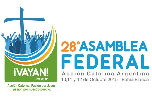 Logo y lema de la 28º Asamblea
